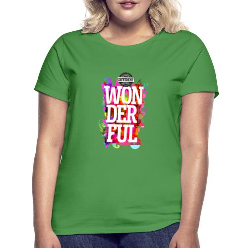 All Different (English) Portrait -- - Women's T-Shirt