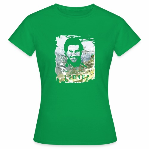 Pablo Escobar distressed - Frauen T-Shirt