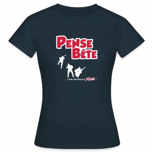 Logo J'Aime Bien Quand tu DANCE ! - T-shirt Femme