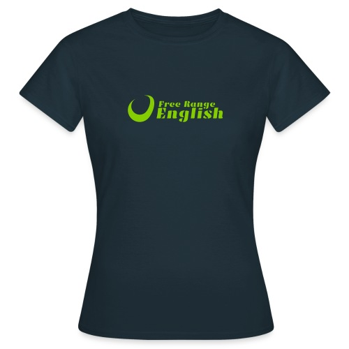 Free Range English_Logo_0 - Women's T-Shirt