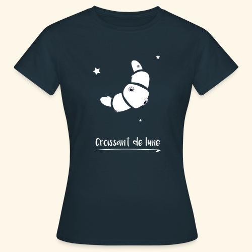 T-shirt   Croissant de lune - T-shirt Femme