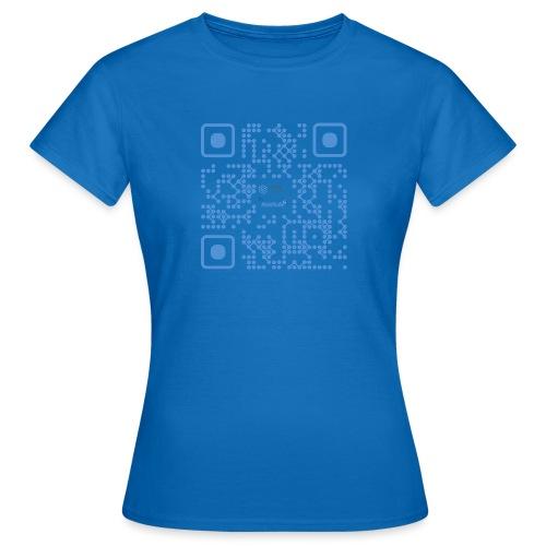 QR Maidsafe.net - Women's T-Shirt