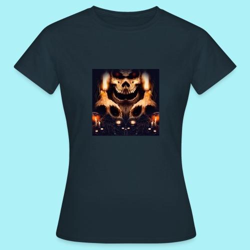 Tête de mort à la chandelle - T-shirt Femme