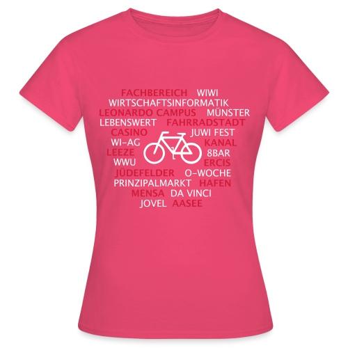 Motiv-Front - Frauen T-Shirt