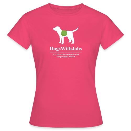 dwj weiss2 png - Frauen T-Shirt