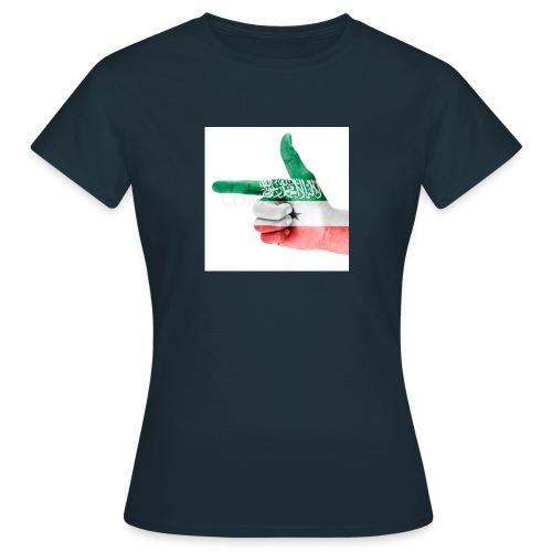 gacanta calanka somaliland - Frauen T-Shirt