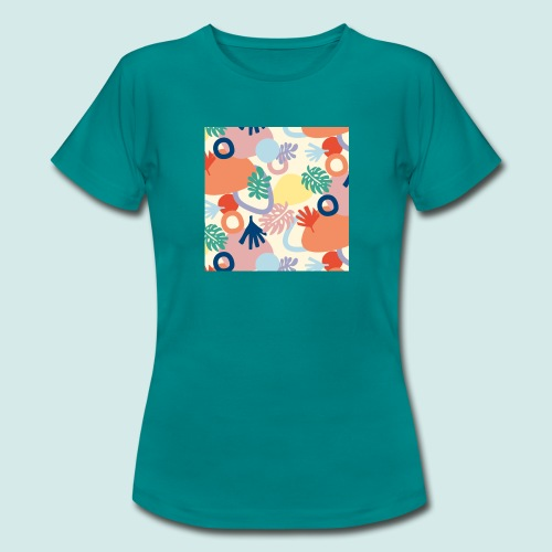 Urban leaves - Frauen T-Shirt