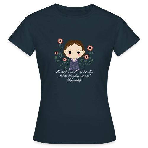 Virginia Woolf citazione [ENG] - Maglietta da donna