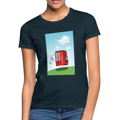 Feuerwehrwagen - Frauen T-Shirt
