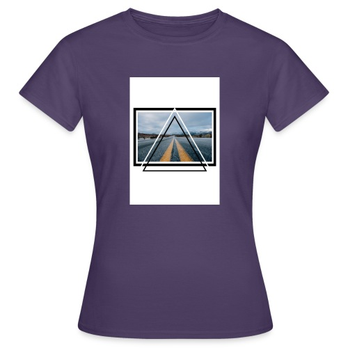 On the Road - T-shirt Femme