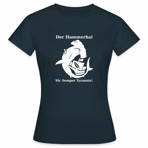 hammerhai weiß - Frauen T-Shirt