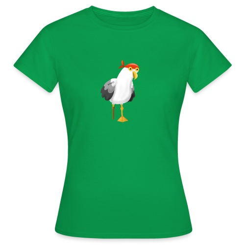 Möwe Pirat Seeräuber Kapitän - Frauen T-Shirt