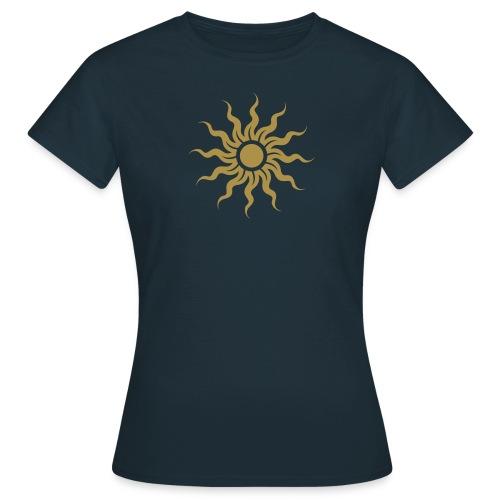 Golden Sun - Sonne - Frauen T-Shirt