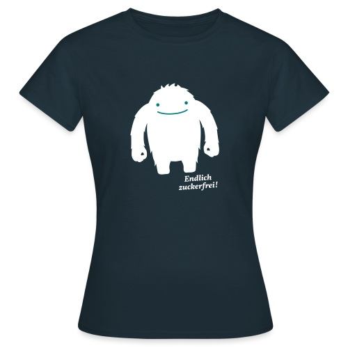 EZ_Zuckermonster-Shirt_mi - Frauen T-Shirt