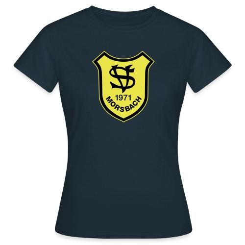Wappen SV Morsbach mit gelber Kontur - Frauen T-Shirt