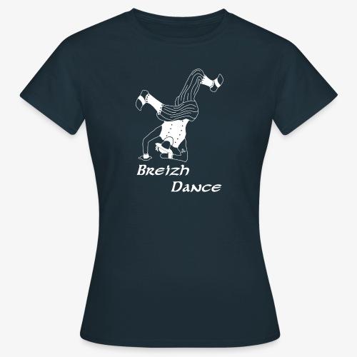 BZH Atypik Design - Breizh Dancer - T-shirt Femme
