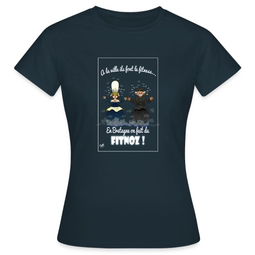 fitnoz - T-shirt Femme