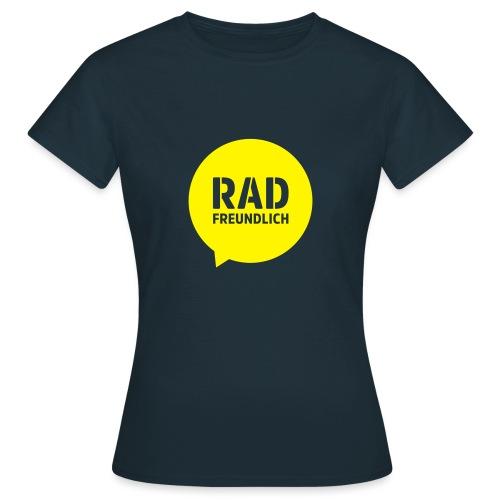 Radfreundlich Ärmel gelb - Frauen T-Shirt