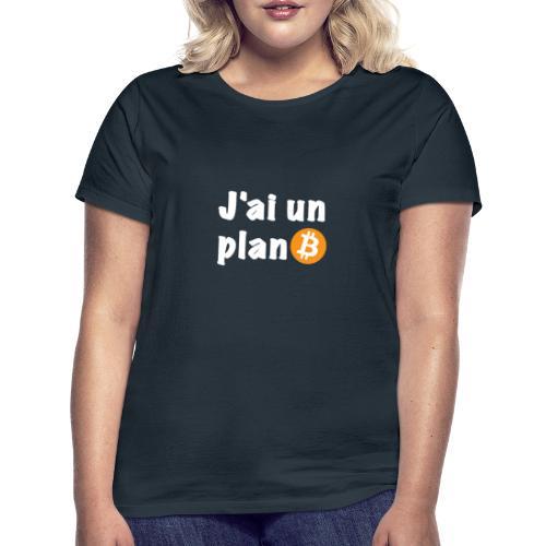 Plan Btc - T-shirt Femme