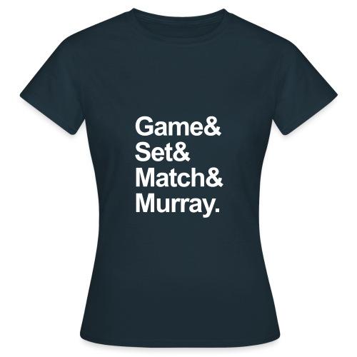 gamsetmurraycnv - Women's T-Shirt