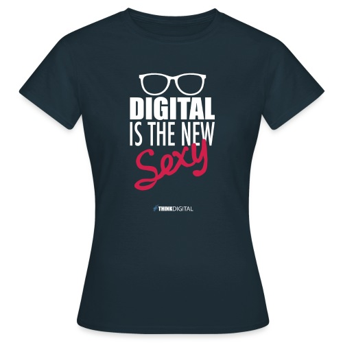 DIGITAL is the New Sexy - Lady - Maglietta da donna