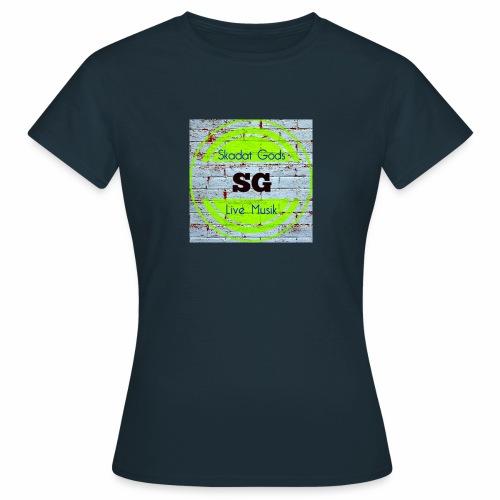 skdatgodslogotyp - T-shirt dam