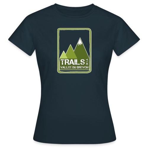 logo trails vb - T-shirt Femme