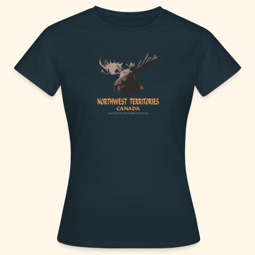 043 Northwest Territories png - Frauen T-Shirt