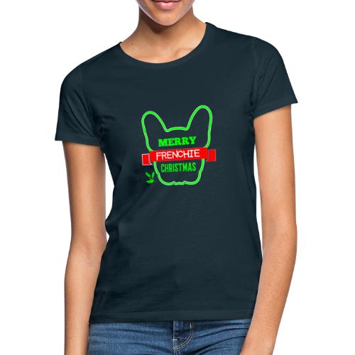 Frenchie Xmas 1 - Frauen T-Shirt