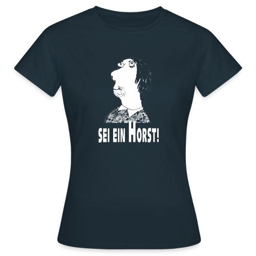 horst bild weiss - Frauen T-Shirt