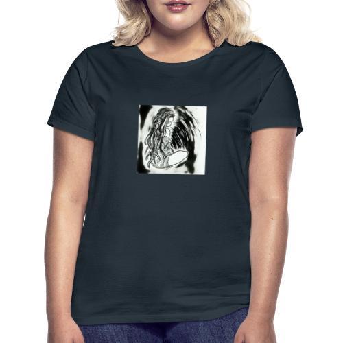 Dreadlock girl - Vrouwen T-shirt