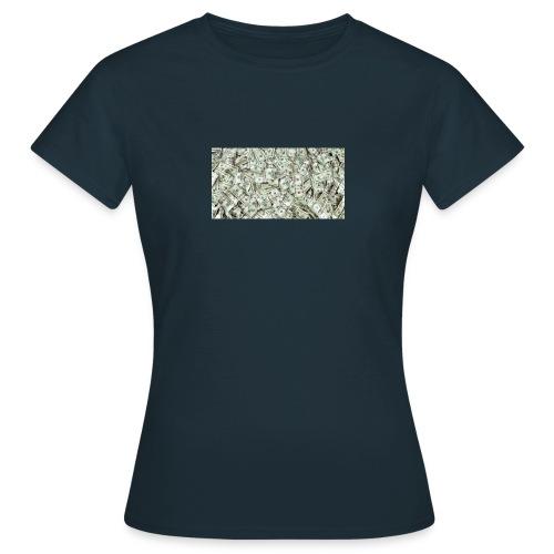 cash on my shirt - Koszulka damska