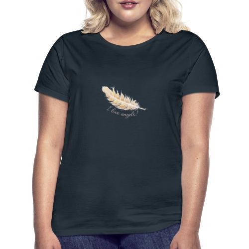 EngelFeder Love - Frauen T-Shirt