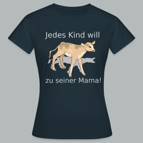 calf 45982 1280 svg png - Frauen T-Shirt