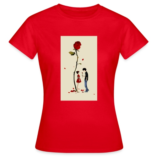 Roses are red - Camiseta mujer