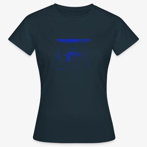 Hyena Blue - T-shirt dam