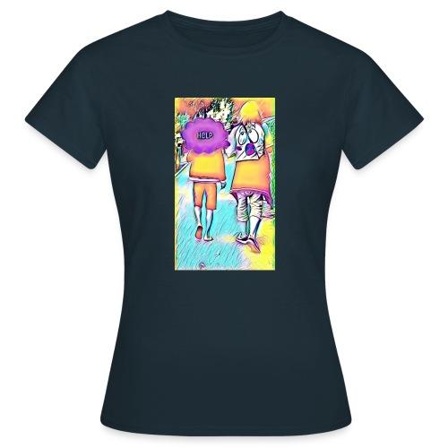 T-shirt wants To escape - T-shirt Femme