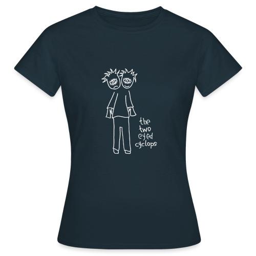 cyclops white gif - Women's T-Shirt