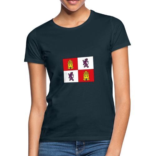 ESCUDO CASTILLA Y LEON - Camiseta mujer