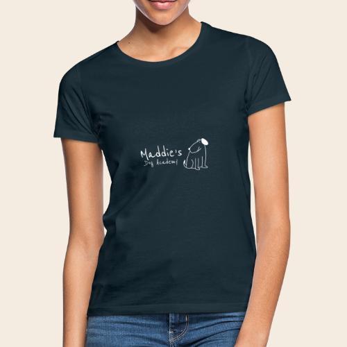 Académie des chiens de Maddie (blanc) - T-shirt Femme