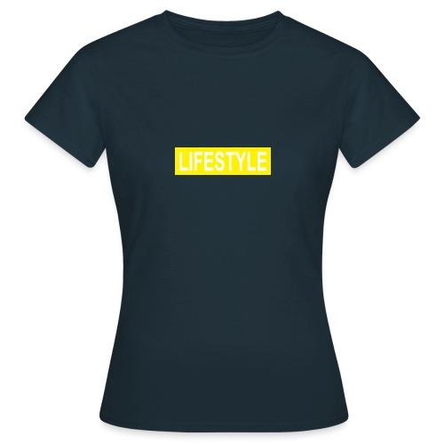 YELLOW LOGO - T-shirt Femme
