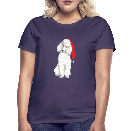 Poodle toy W - christmas - Dame-T-shirt