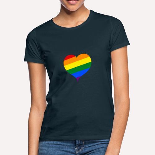 LBGT+ Colorfull Heart - Women's T-Shirt