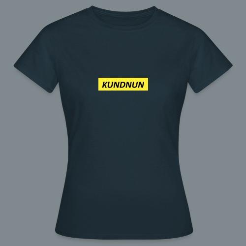 Kundnun official - Vrouwen T-shirt