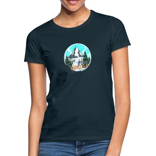 Barebells & Mountains - Frauen T-Shirt