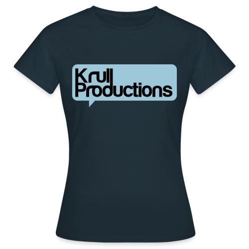 kpshirtblsvart - T-shirt dam