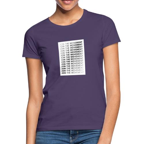 JoinTheMovement SketchFile - Vrouwen T-shirt
