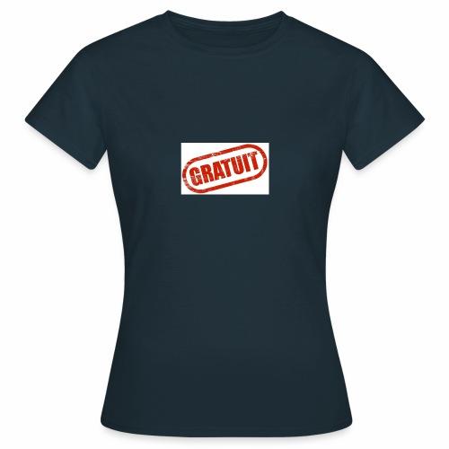 Logo Gratuit - T-shirt Femme