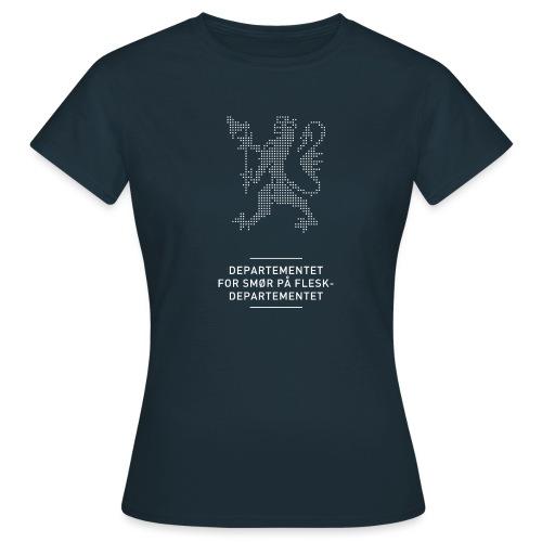 Departementsdepartementet (fra Det norske plagg) - T-skjorte for kvinner