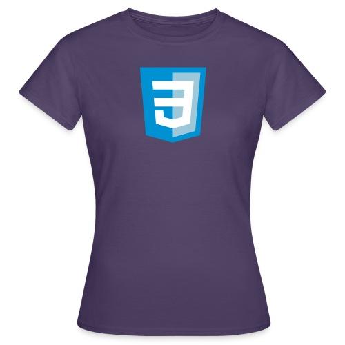 css3logolibrededroits - T-shirt Femme
